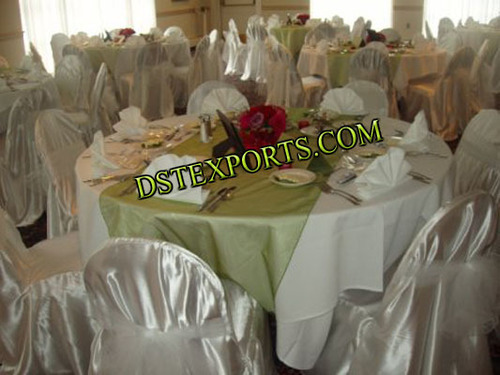 Wedding Silver Chair Cover With Tissue Sasha