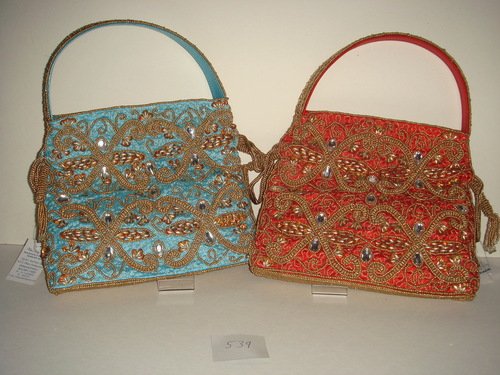 Colored Beaded Purses