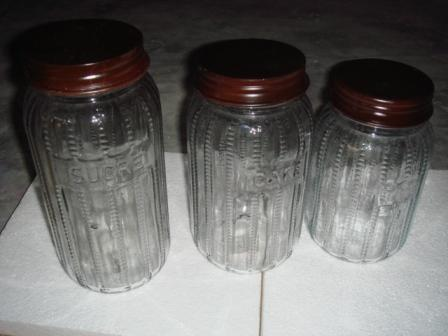 Antique Glass Jars