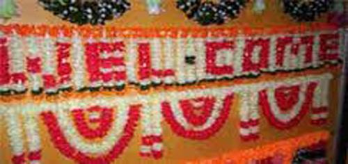 Wedding Welcome Flower Bandanwars