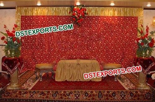 Wedding Designer Embroidry Backdrop