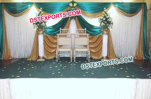 Wedding New Stylish Stage Backdrop