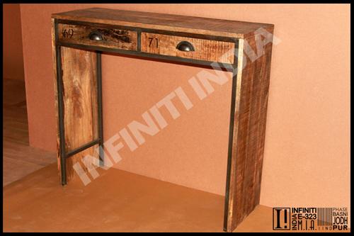 Vintage Industrial TV Stand