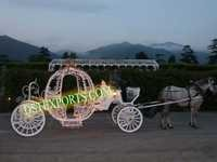 Lighted Wedding Carriage