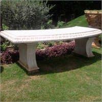 Marble Garden Bench