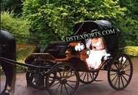 Black Wedding Carriage