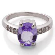 Real Emerlad Diamond Light Weight Jewelry  Ring