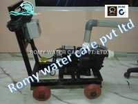 MS Trolley Mounted Suction Sweeper Suction Sweeping Machine