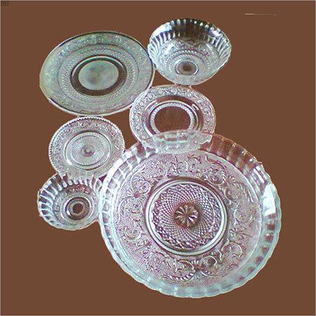Glass Dinner Set