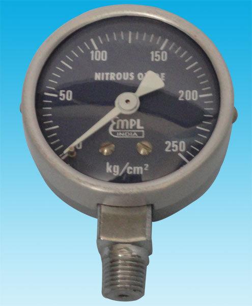 Contact gauge nitrous oxide (0-250Kg)