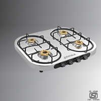 4B Stainless Steel Gas Stove