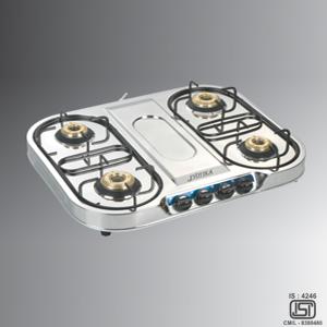 4 Burner SS Gas Stove