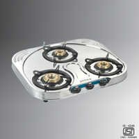 Durable 3B SS Gas Stove