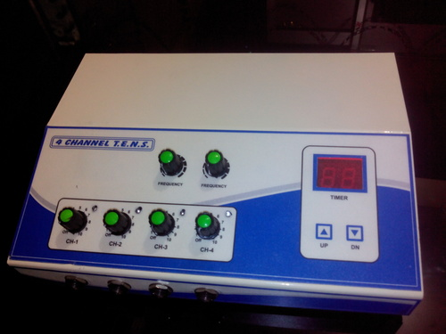 Four Channel Tens Unit LCD Model
