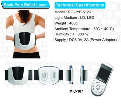 Back Pain Relief Laser