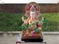 Wedding Ganesha Statue With Jewelery