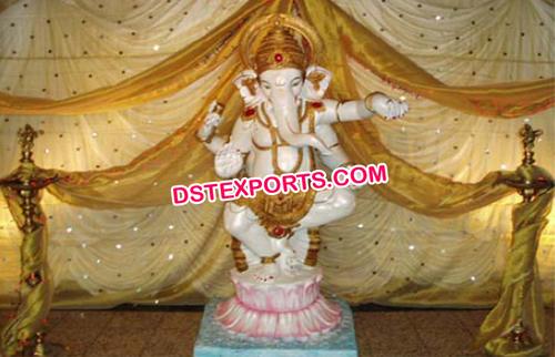Decorated Lord Ganesha Statue