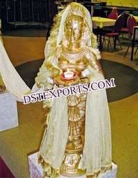 Wedding Welcome Deep Lady Fiber Statue
