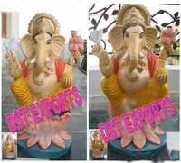 Indian Wedding Ganesh Fiber Statue