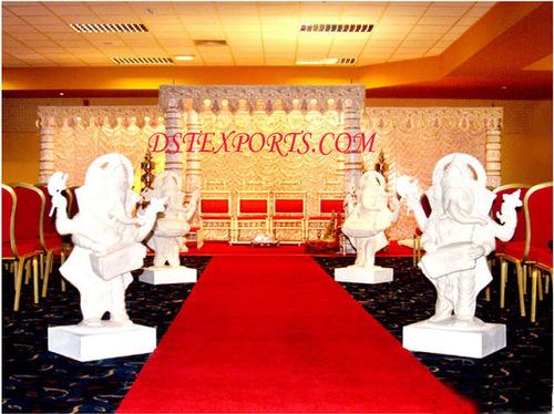 Wedding Welcome Musical Ganesha Statues