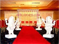 Wedding Welcome Musical Ganesha Statues
