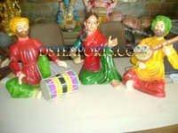 Rajasthani Musical Statues