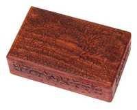Hand Engraved Decorative Jewelry Box With Red Velvet Interiors