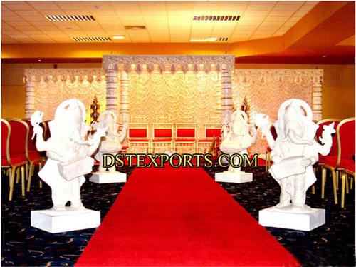 Wedding Enterance Ganeha Statues