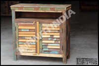 Reclaimed Wooden Cabinet