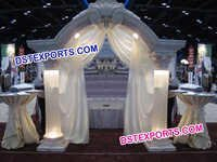 Wedding Lighted Roman Welcome Gate