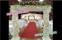Wedding Fiber Crystal Welcome Gate