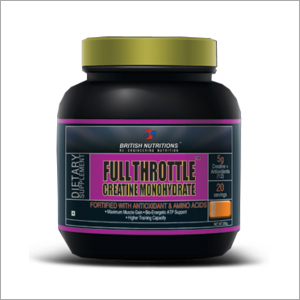 Full Throttle Creatine Monohydrate