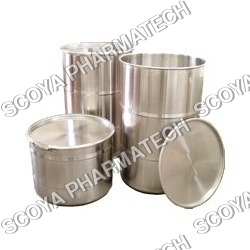 Stainless Steel Pharmaceutical Container
