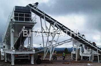 Combined Portable Crushing Plant