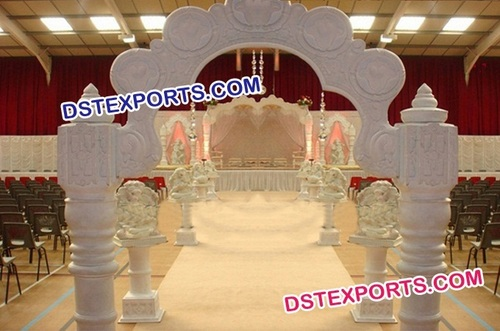 Indian Wedding Carved Welcome Gate