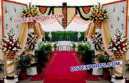 Wedding Roman Pillar Entrance Gate
