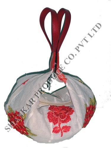 Designer Leather Potli Bag