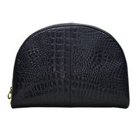 Croco Printed Designer Leather Clutch Bag