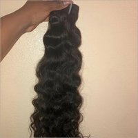 Indian human hair machine weft