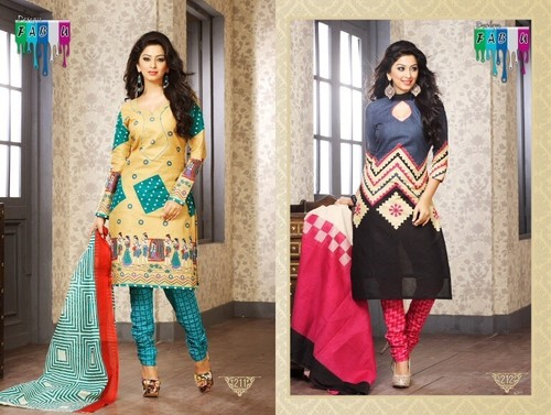 Cotton Dress Material -GATHA VOL FOUR