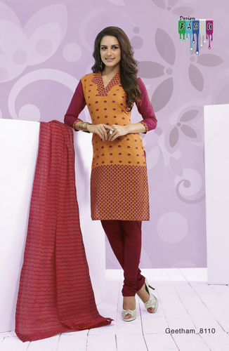 Latest Cotton Dress Material