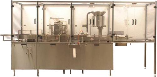 Eight Head Twin Track Liquid Filling Machine
