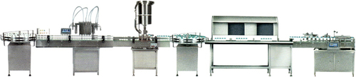 Bottle Filling Line, Syrup Filling line