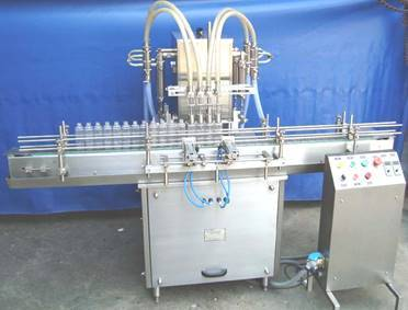 Volummetric Eight Head Liquid  Filling Machine