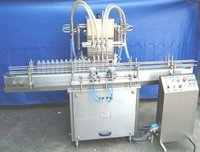 Volummetric Eight Head Liquid  Filling Machine