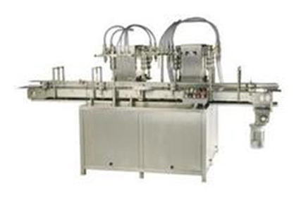 Twin Track Twelve Head Liquid Filling Machine