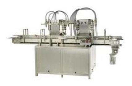 Twin Track Twelve Head Liquid Filling Machine