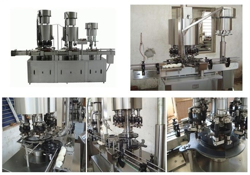 Muti Head Capping machine