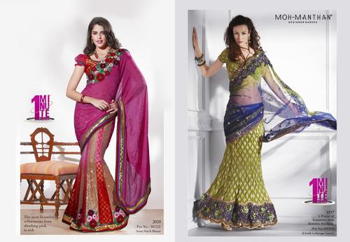 Netted Sarees