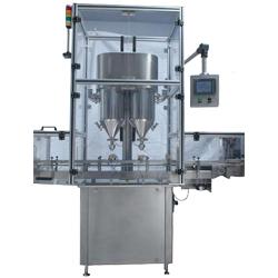 Double Head Auger Type Powder Filling Machine